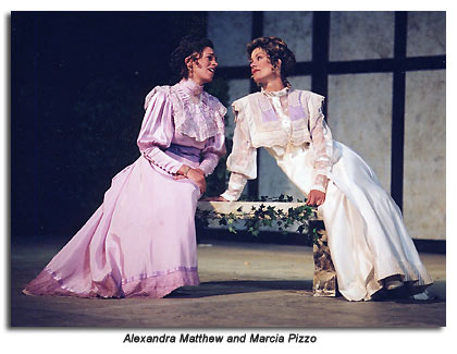 Celia and Rosalind from As You Like It, Marin Shakespeare  Company 2001