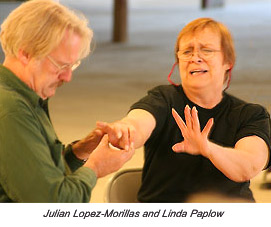 Julian Lopez-Morillas and Linda Paplow