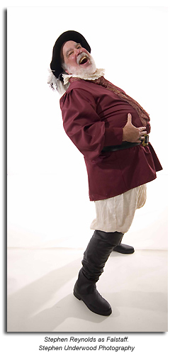 Stephen Reynolds as Falstaff