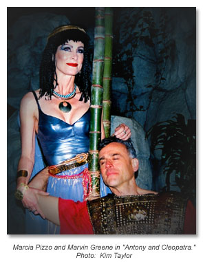 Cleopatra and Antony - Marin Shakespeare 2010
