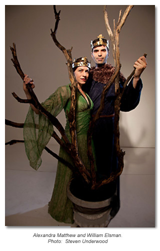 Macbeth 2011 Alexandra Matthews and William Elsman