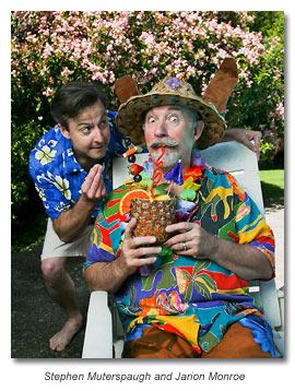 Puck and Bottom - Midsummer Night's Dream 2012 - Marin Shakespeare