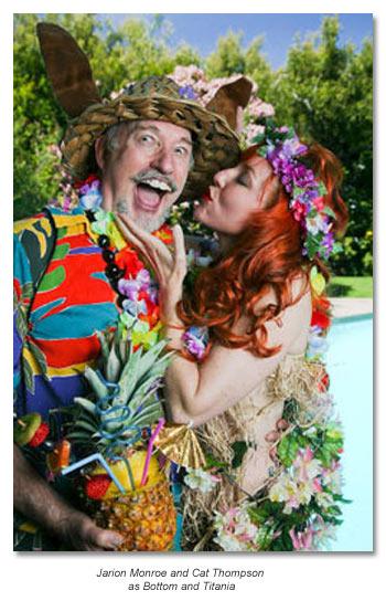 Bottom and Titania from Midsummer Night's Dream 2012- marin Shakespeare