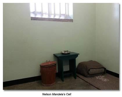 Nelson Mandell's Cell