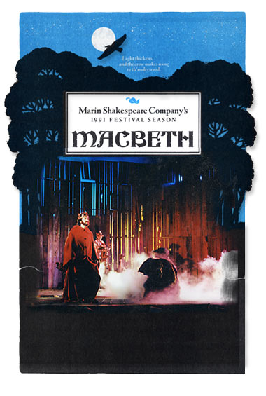 The witches and Eric Zivot *as MacBeth - 1991