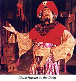 The Duke from Comedy of Errors - Marin Shakespeare Company 1992