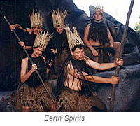earth spirits from the Tempest