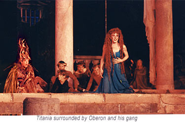 Oberon and Titania -  Marin Shakespeare Midsummer Night's Dream 1994