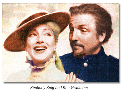 Kimberly King as Beatrice & Ken Grantham as Benedick