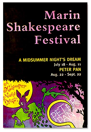 1996 Season - Midsummer Night's Dream and Peter Pan