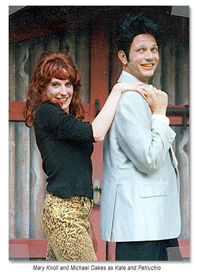 Kate and Petruchio from The Taming of the Shrew 1997