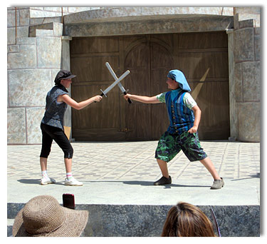 The art of stage swordplay