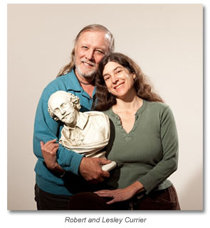 Robert and Lesliey Currier welcome you to Marin Shakespeare
