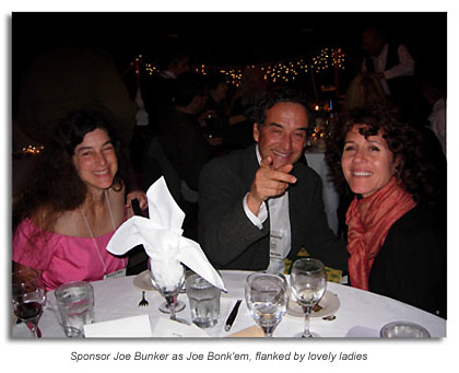 Sponsor Joe Bunker & lovely ladies