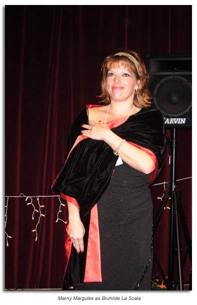 Mary Margules as Brunhilda La Scala