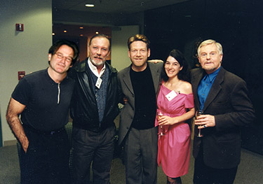 1997 Marin Shakespeare Hamlet Reception - Kenneth Branaugh, Roblin WiIlliams Sir Derek Jacobi