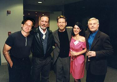 1997 Marin Shakespeare Hamlet Reception - Kenneth Branaugh, Roblin WiIlliams Sir Derek Jacobi