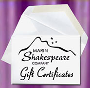 Shakespeare Tickets make great gifts