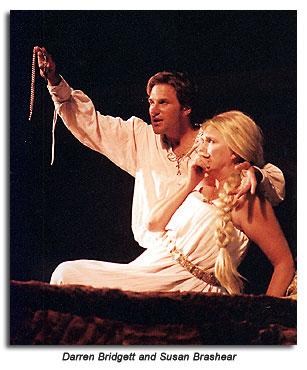Hamlet and Queen Gertrude