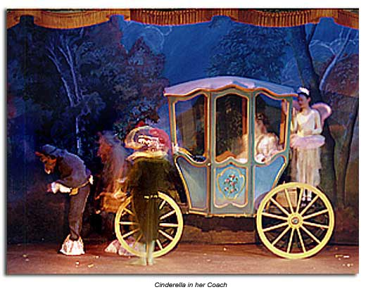 Cinderella's carriage Marin Shakespeare 2002