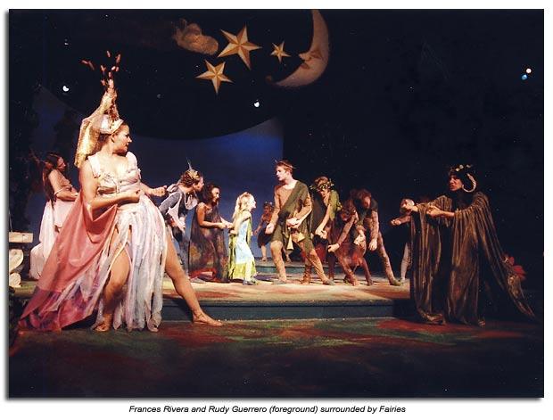 Oberon and Titania and their fairie companies