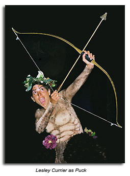 Lesley Currier as Puck