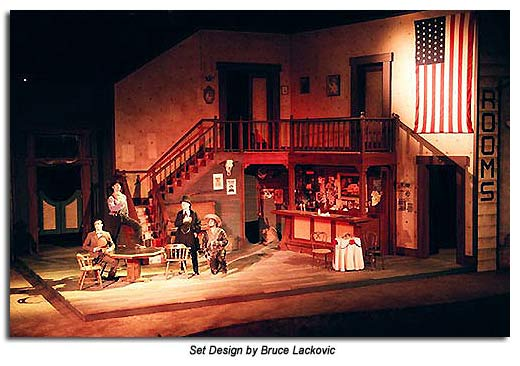 The Taming of the Shrew 2004 Set Design by Bruce Lackovic
