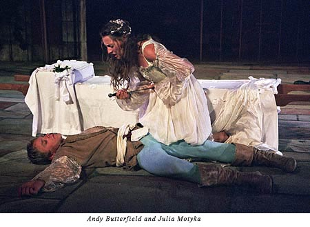 Juliet's death on finding Romeo dead
