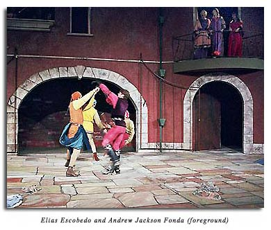 Fight scene from Romeo and Juliet