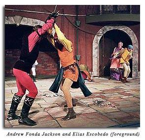 Tybalt fights Benvolio