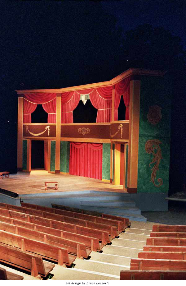 The set of Two Gentlemen of Verona