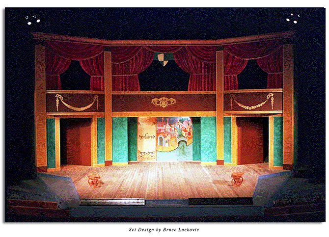 Set from Two Gentlemen of Verona