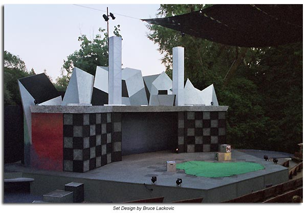 The Set of Alice in Wonderland by Bruce Lackovic