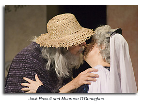 Jack Pwell and Maureen O'Donoghue