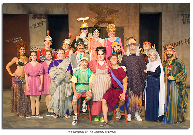 The company of The Comedy of Errors
