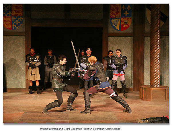 fight scene from Henry IV part 1