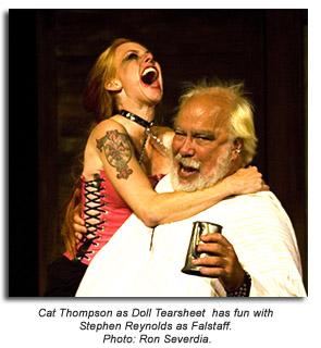 Doll Tearsheet and Falstaff