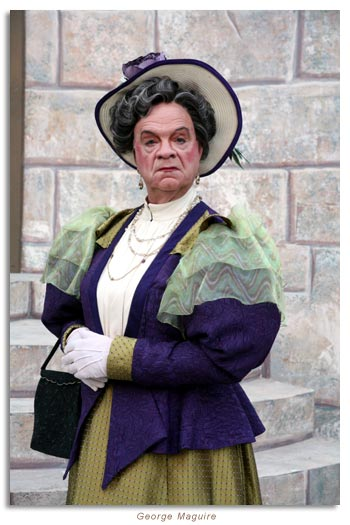 George Macuire as Lady Bracknell