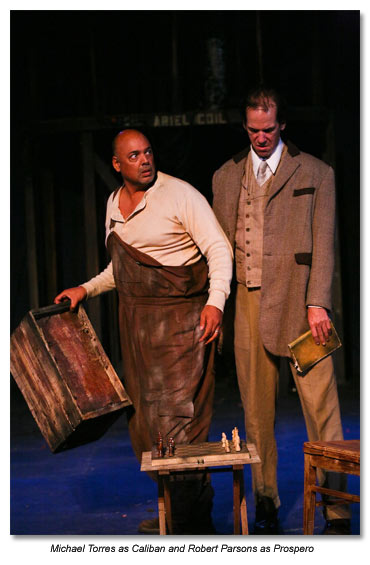 Caliban and Prospero