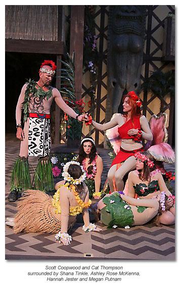 Oberon & Titania with fairies