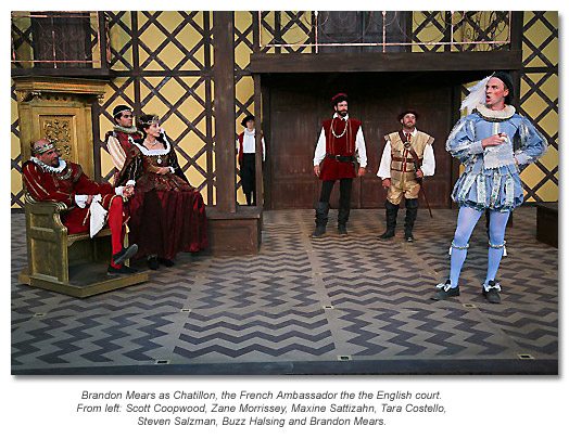 the French ambassador to the English court of King John - Marin Shakespeare 2012