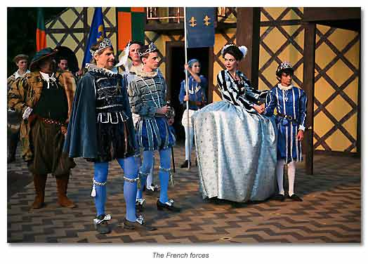 The French, King Philip, the dauphin, Constance and Prince Arthur