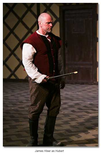 Hubert of Angiers, who is jailer to Prince Arthur