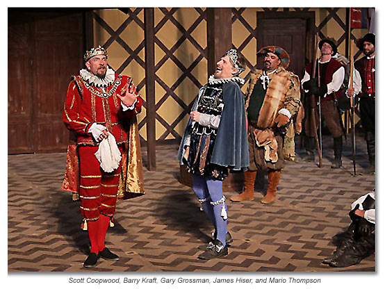 The Kings joke, King John 2012 Marin Shakespeare