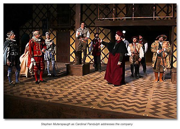Pandulph, cardinal of Rome at the English court - King John