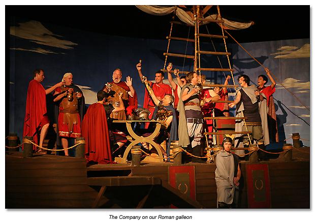 Romans on the Ship - 2010 Antony and Cleopatra