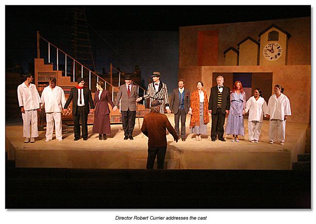 Marin Shakespeare cast of Travesties