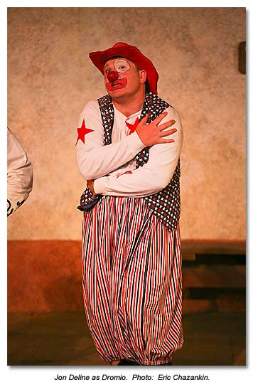 Dromio from A Comedy of Errors, 2013