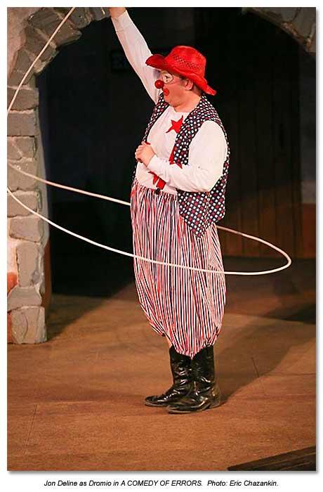 Jon Deline as Dromio