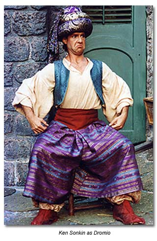 Dromio from Comedy of Errors - Marin Shakespeare 1992